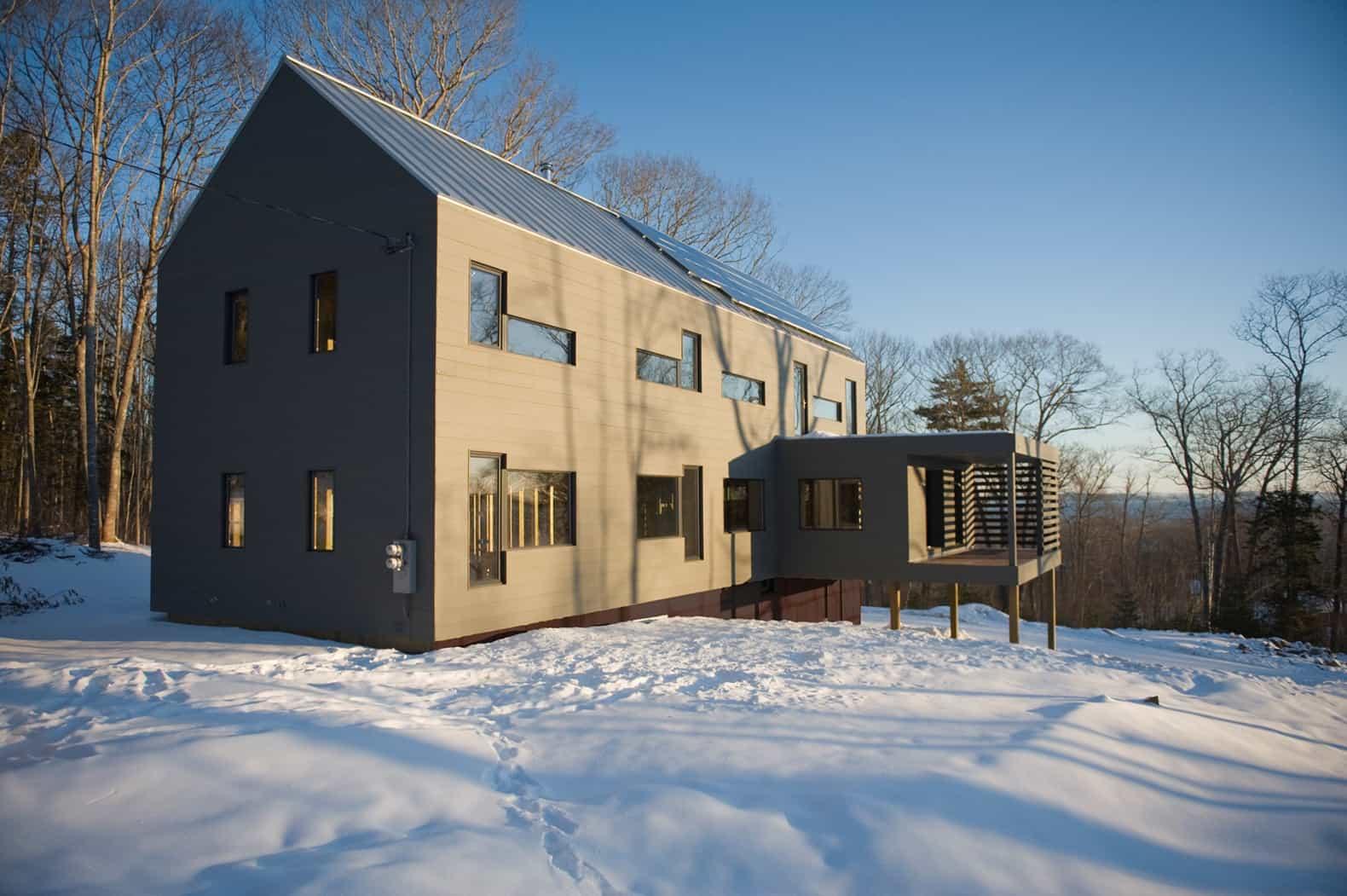 Ecocor Passive – prefab house