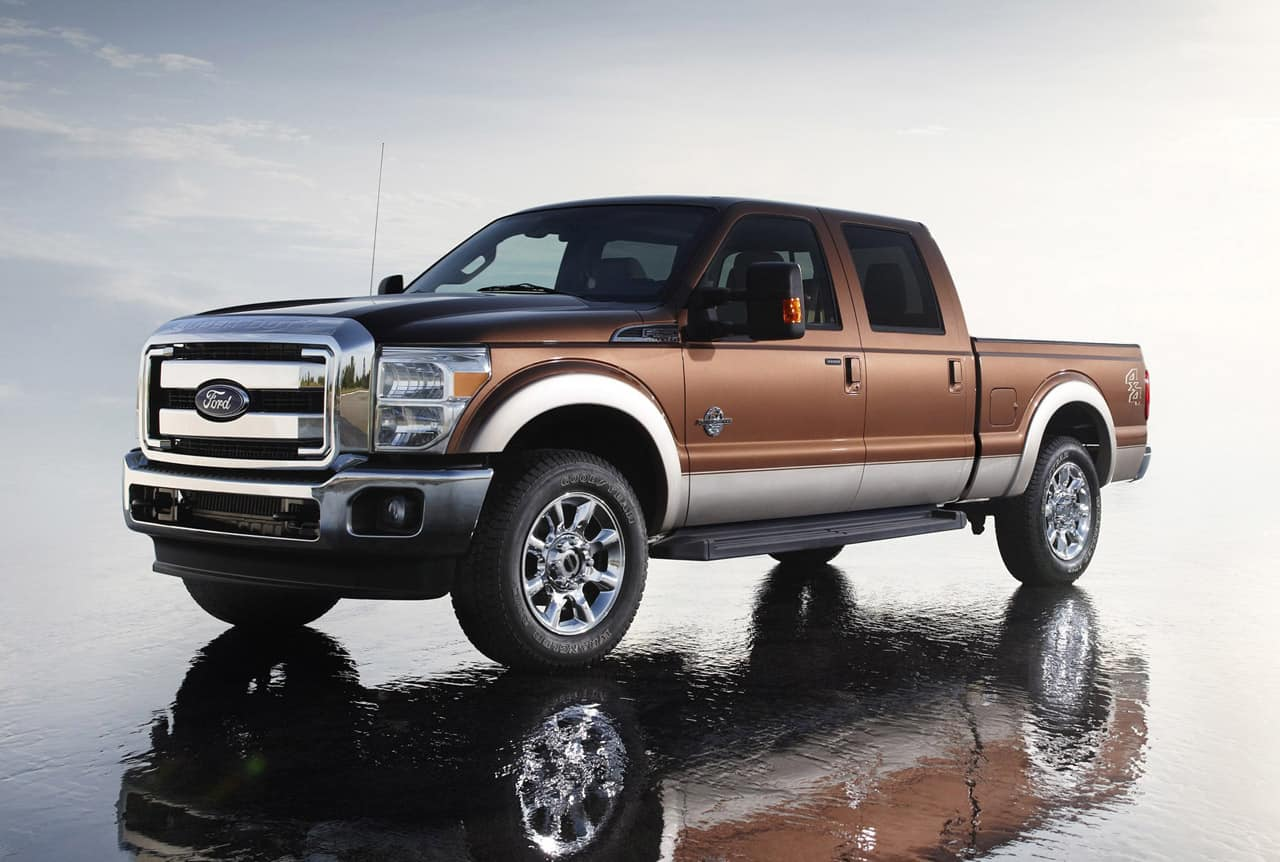 Ford F-150 F-250 Super Duty – reliable cars