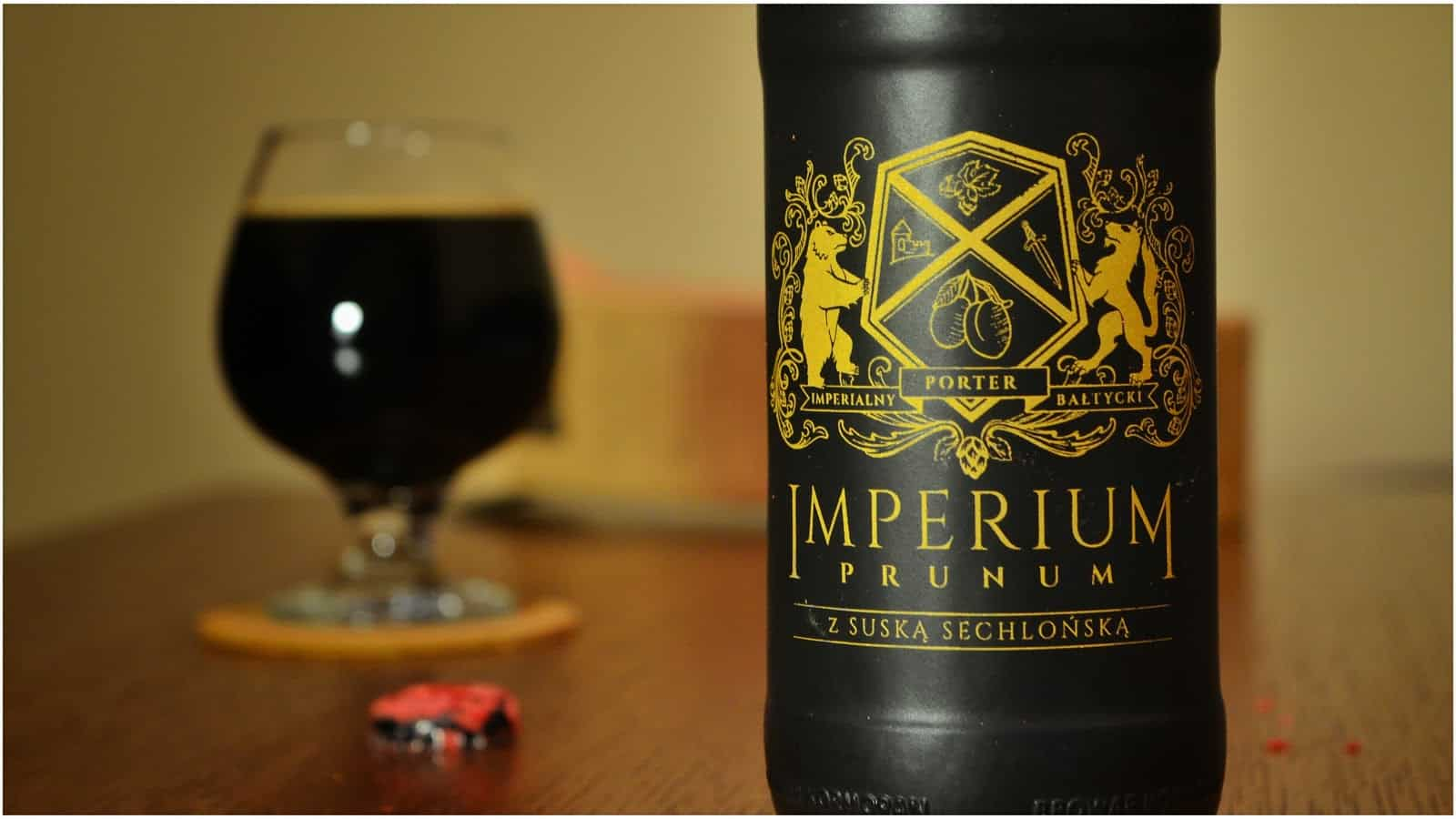 Kormoran Imperium Prunum – winter beer