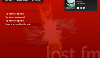 Lastfm free music online 345x200 13 Smart Ways To Listen to Free Music Online