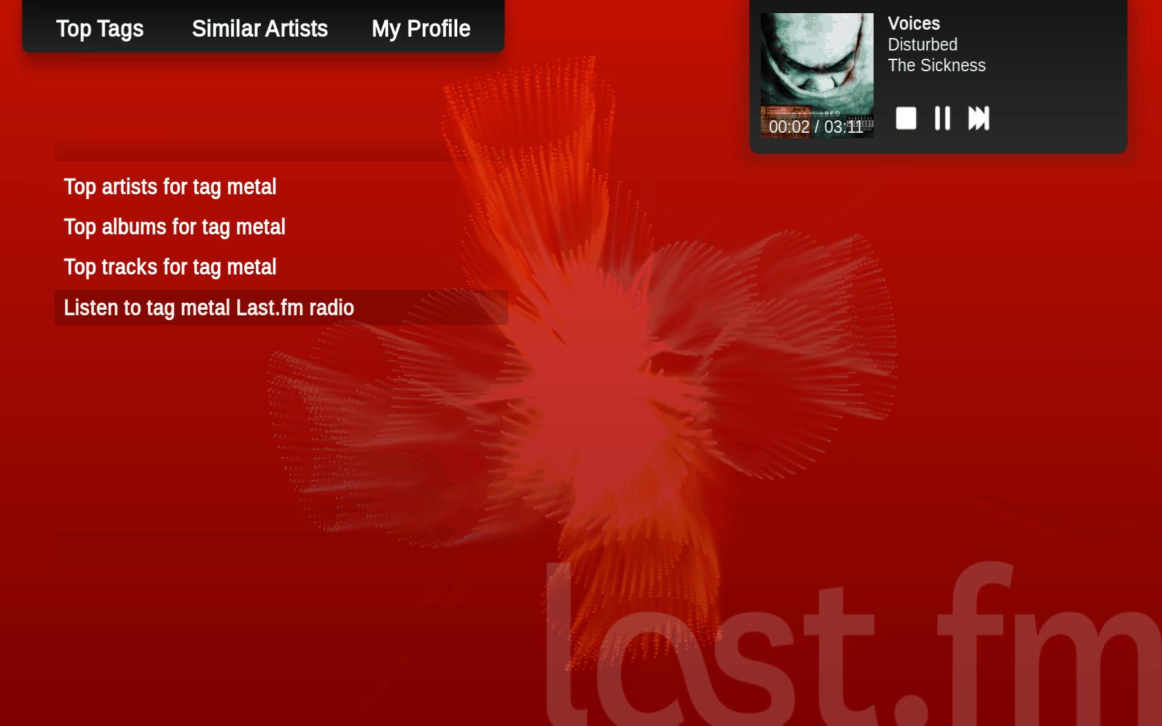 Lastfm – free music online