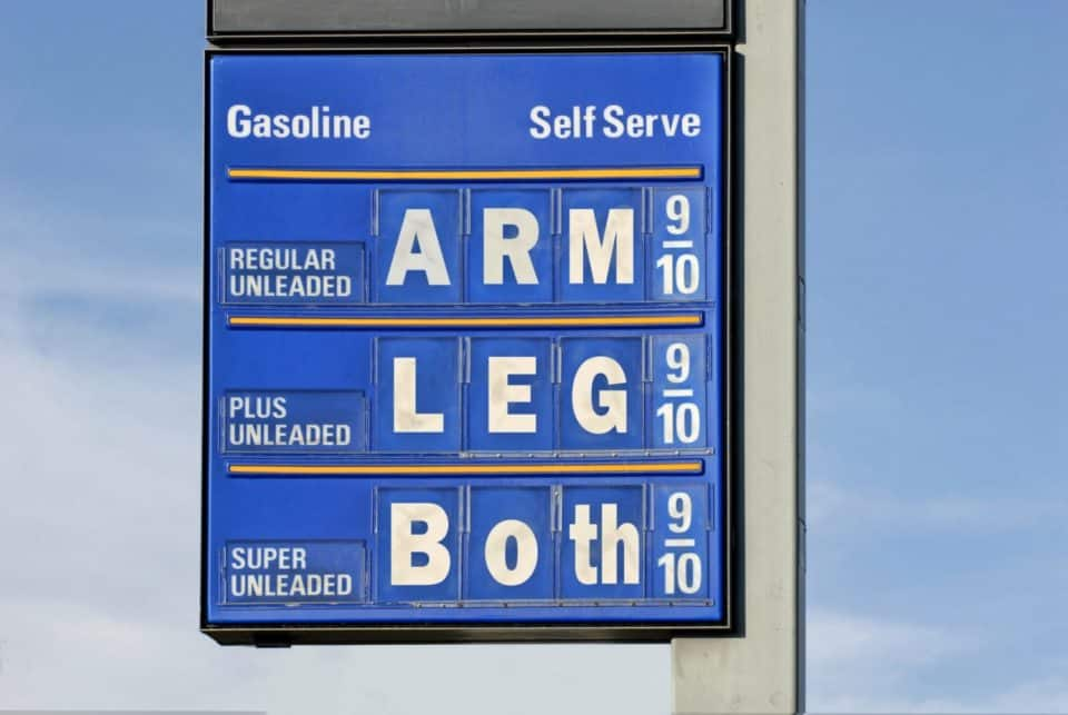 Leverage The Power of The Gas App save money gas 960x643 17 Simple Ways To Save Money On Gas