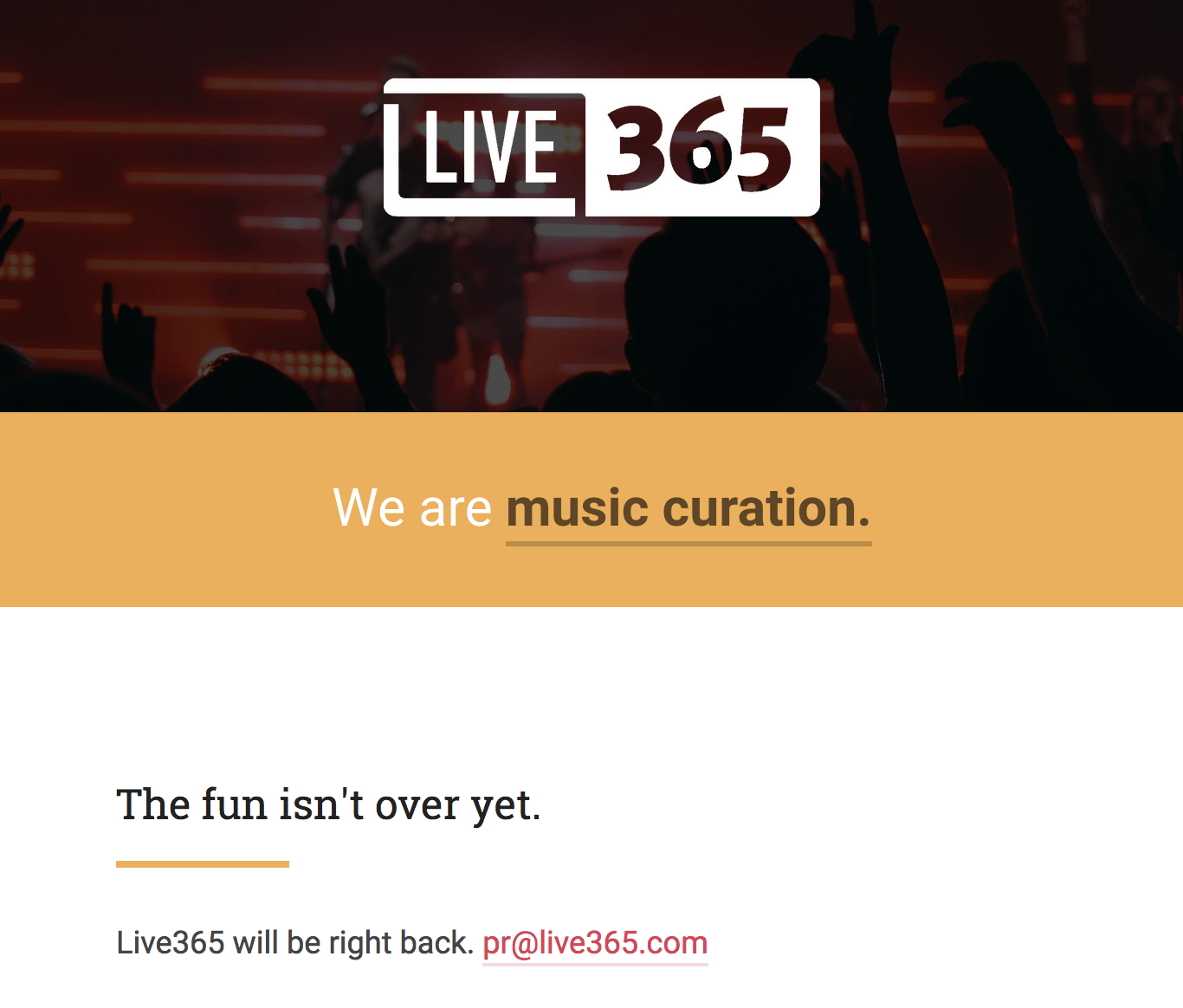 Live365 – free music online