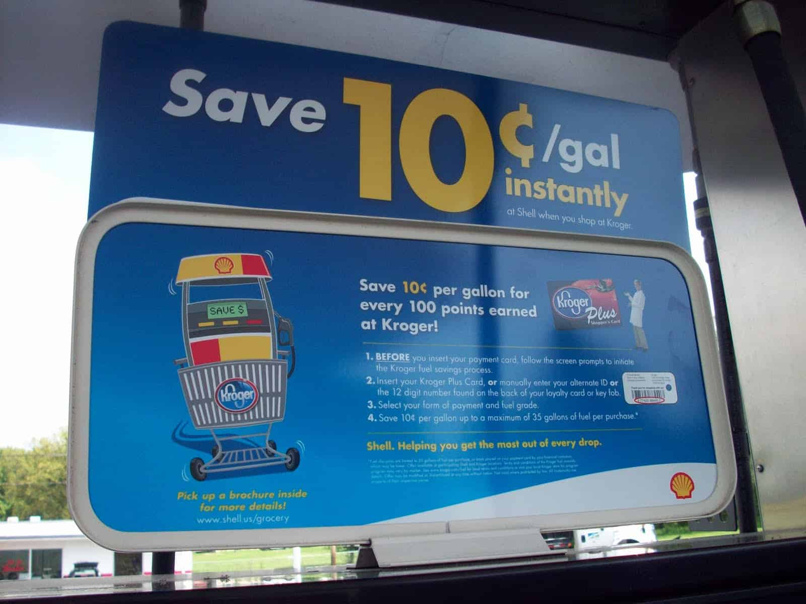 Loyalty Card – save money gas
