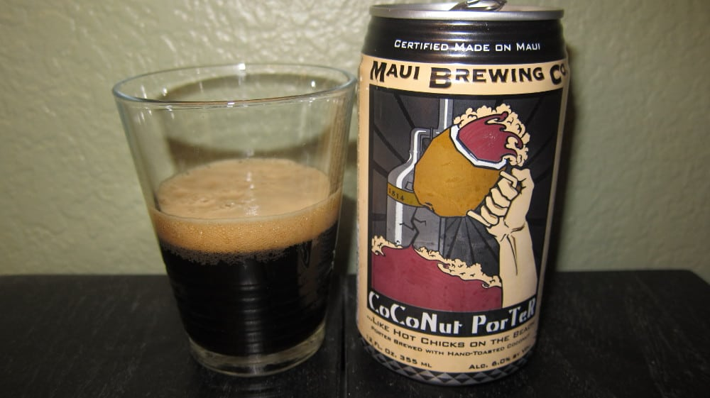 Maui Brewing Coconut Hiwa Porter – winter beer