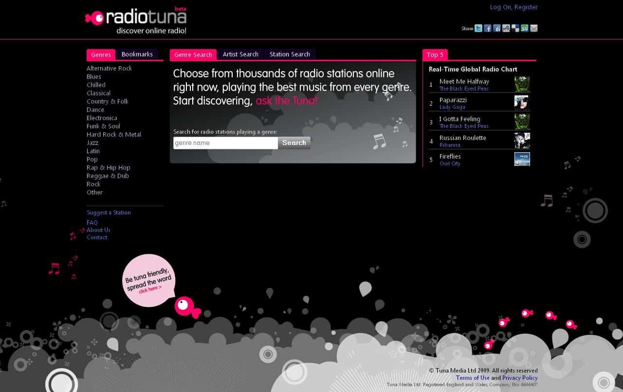 Radio Tuna – free music online