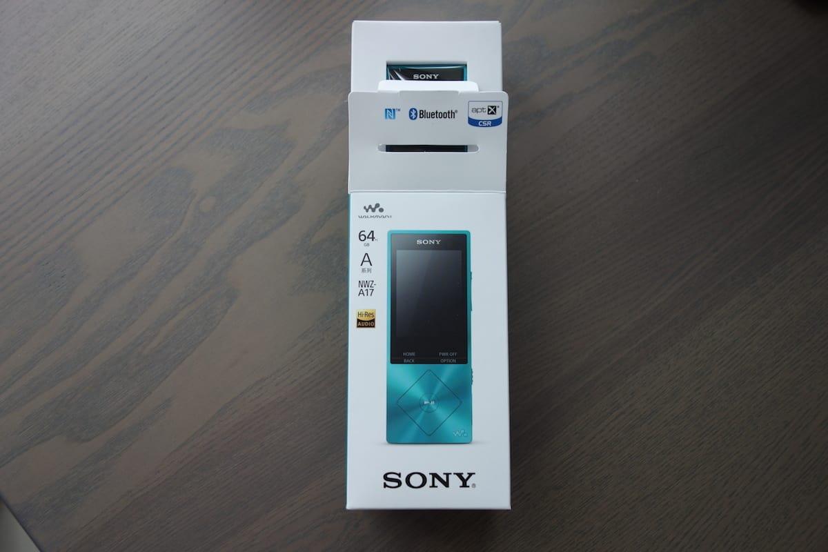 Sony NWZ-A17 – mp3 player
