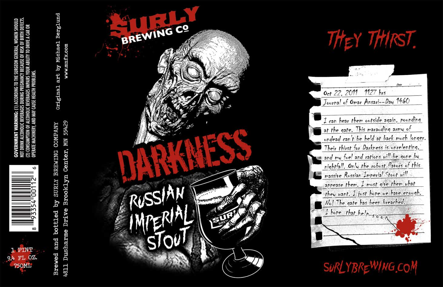Surly Darkness – winter beer