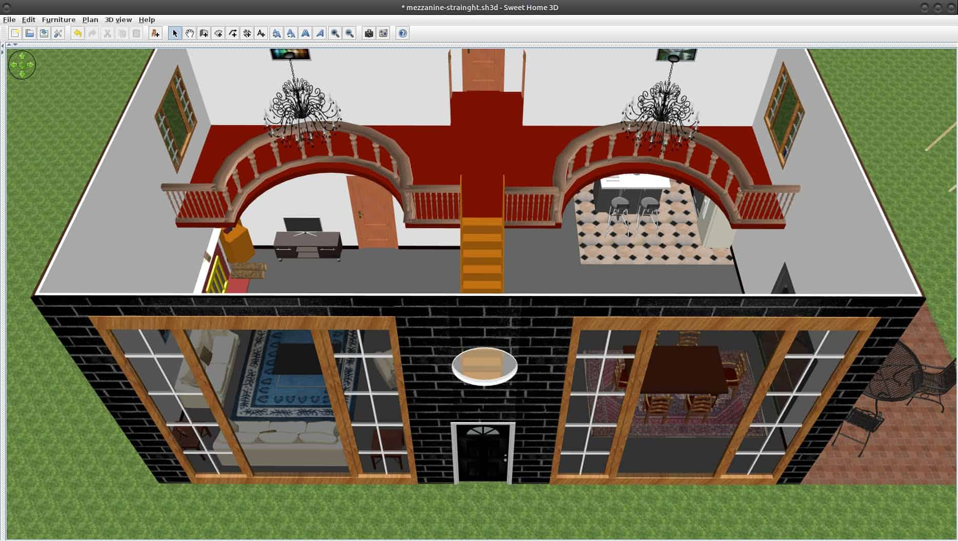 Live it up the 8 best home design software programs - Free software for 3d home design ...
