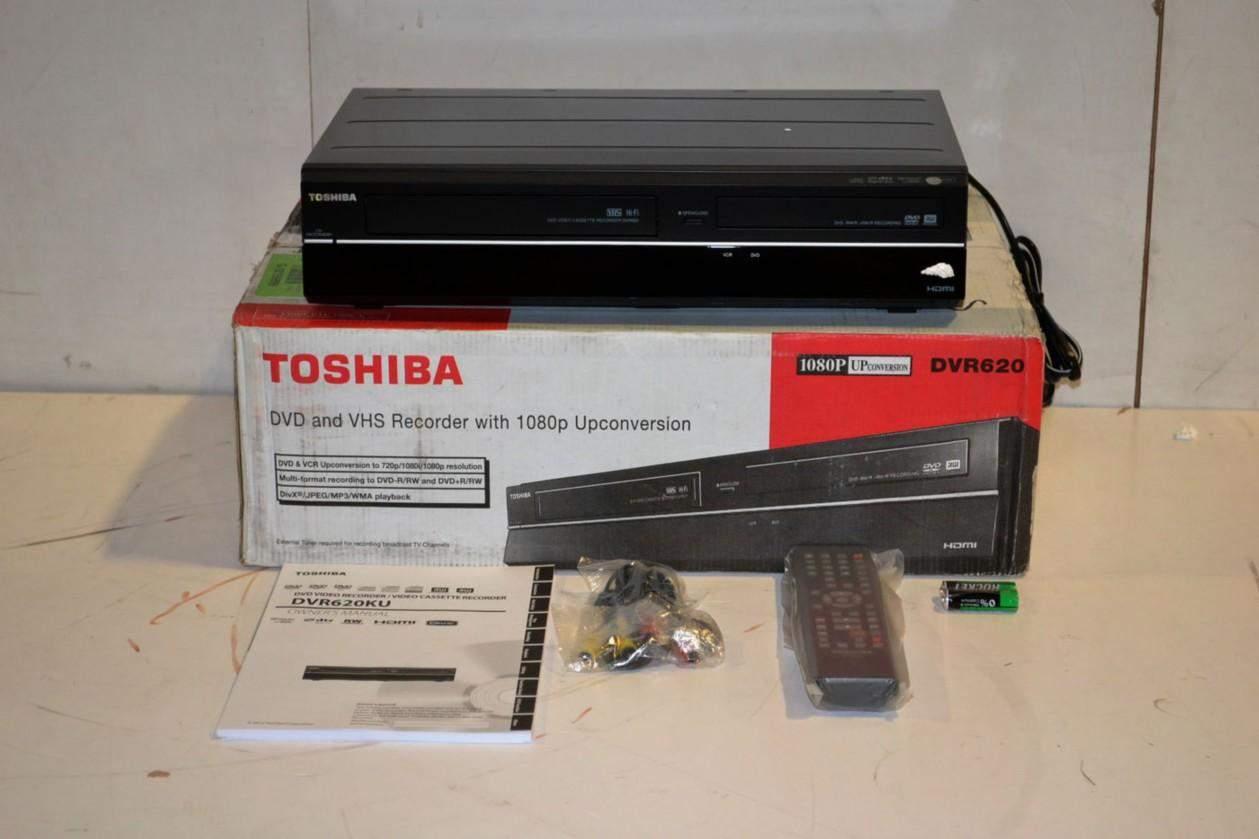 TOSHIBA DVR620 DVD Recorder VCR Combo – vhs converter