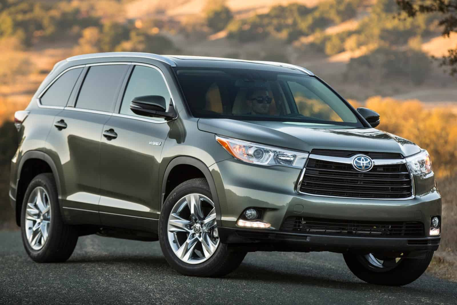 Toyota 4Runner, Highlander, and Sienna – reliable cars