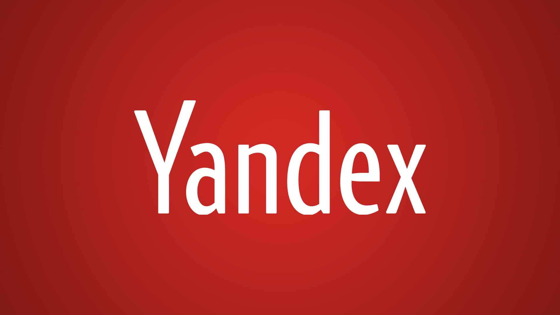Yandex – free email provider