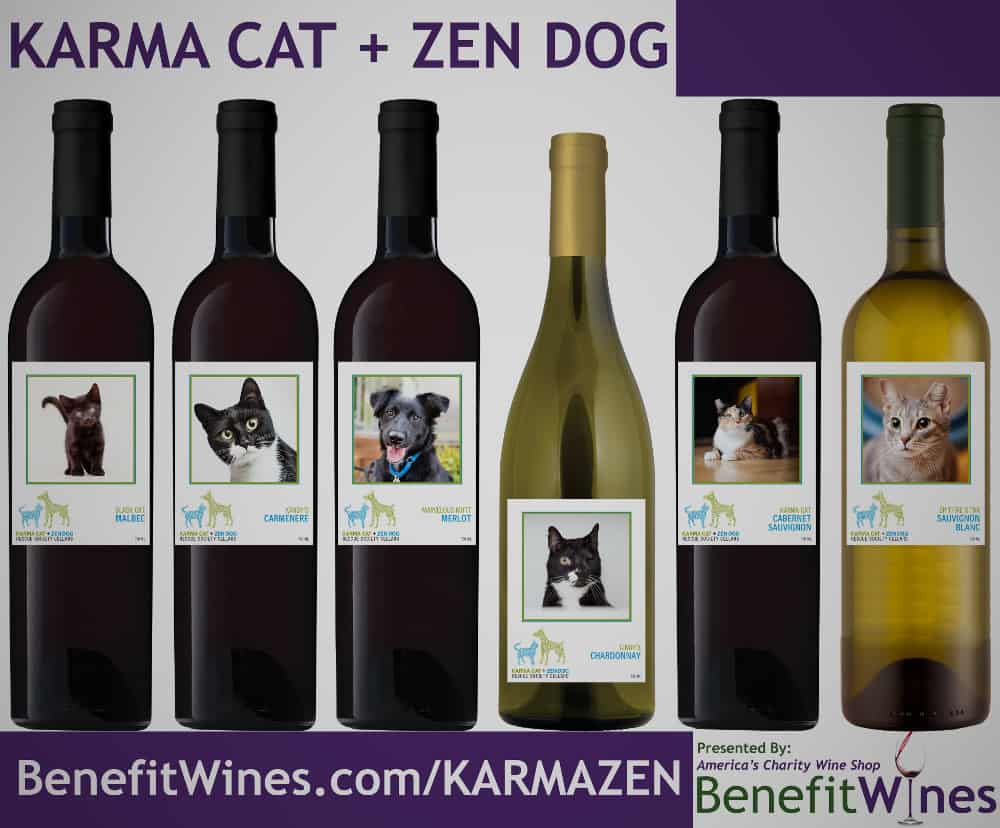All Breed Rescue Wine - brand help animals - TheCoolist