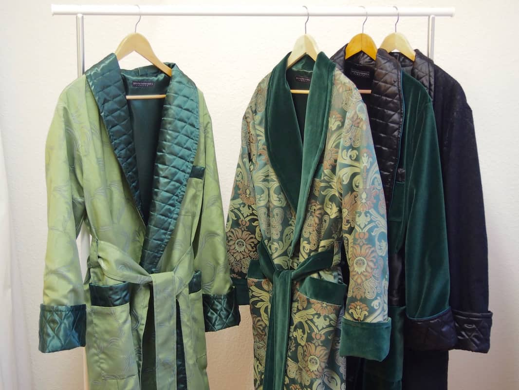Birth of the Dressing Gown – smoking jacket