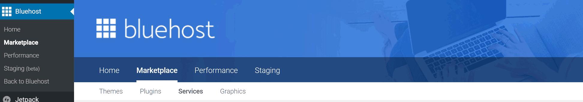Bluehost – web hosting
