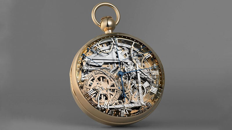 Breguet Marie-Antoinette Grande Complication Expensive Pocket Watch