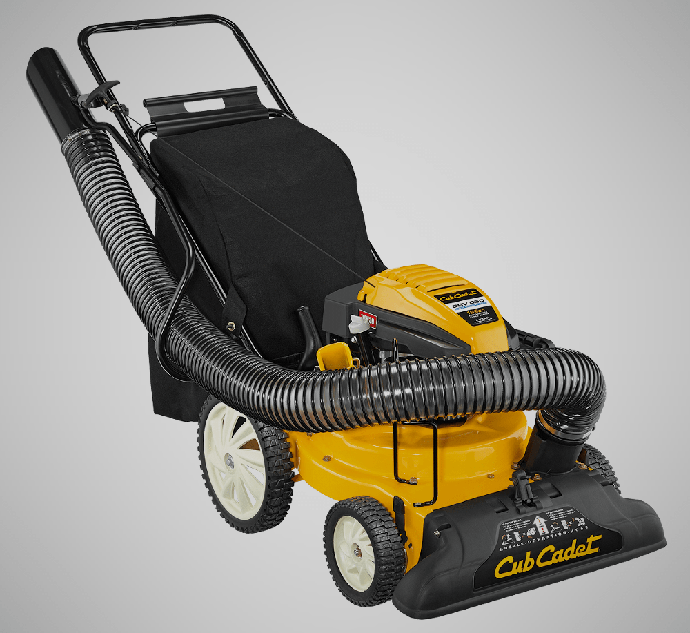 Cub Cadet Chipper and Shredder Leaf Vacuum