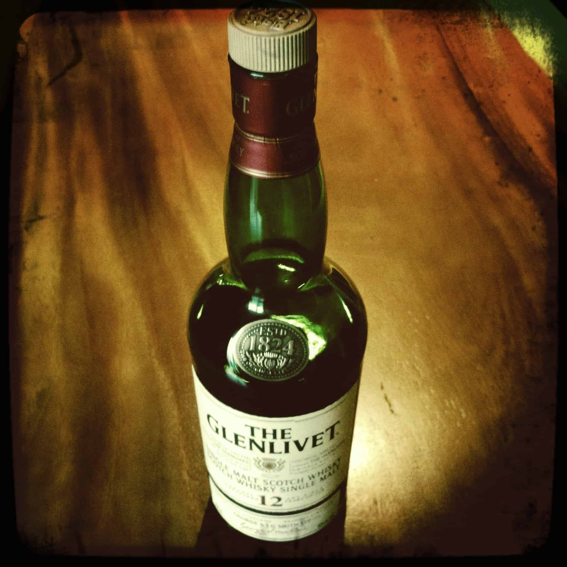 Glenlivet – scotch under 50