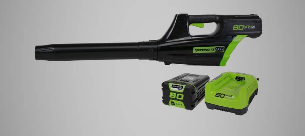 GreenWorks Pro GBL80300 – leaf vacuum