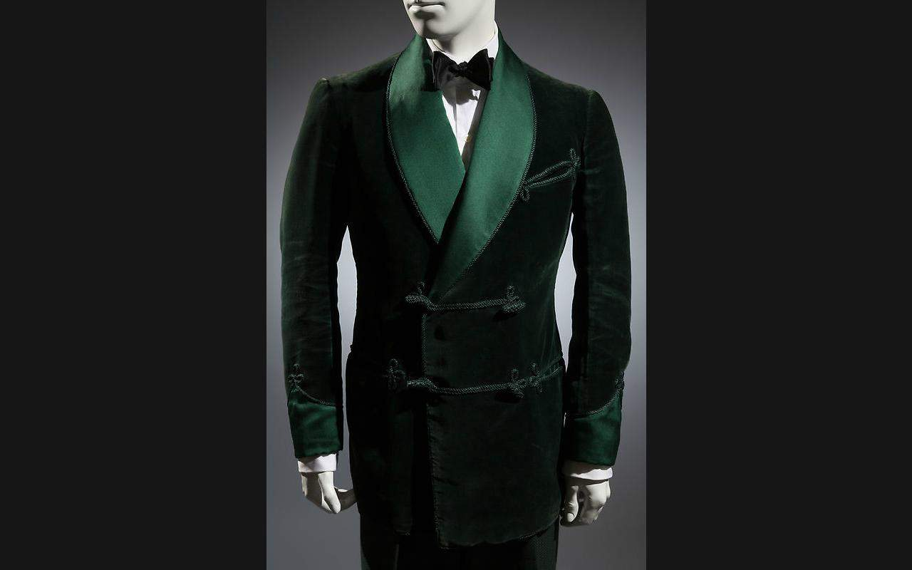History of Smoking Jacket