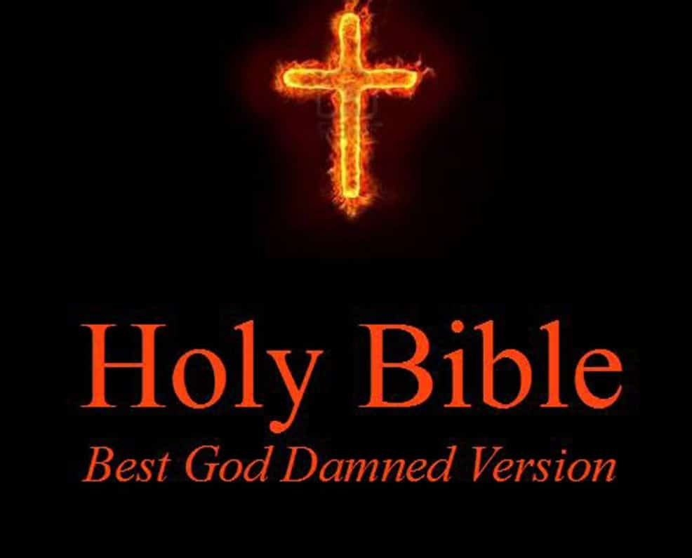 Holy Bible – Best God Damned Version – The Books of Moses: For atheists, agnostics, and fans of religious stupidity (Volume 1) – funny philosophy