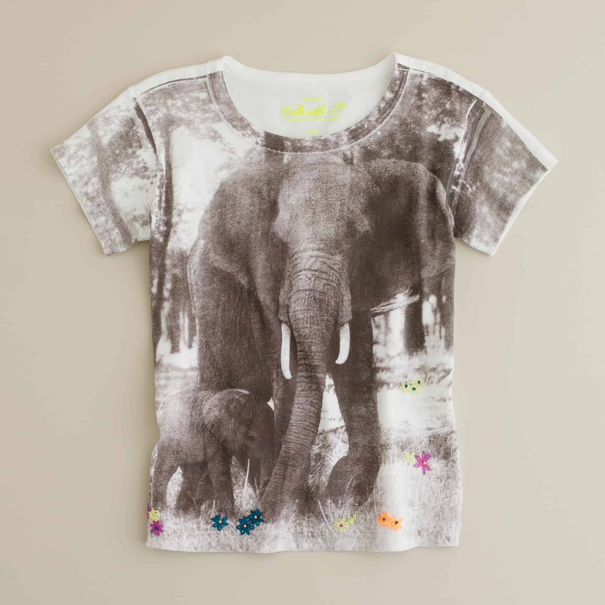 J.Crew Elephant Apparel – brand help animals