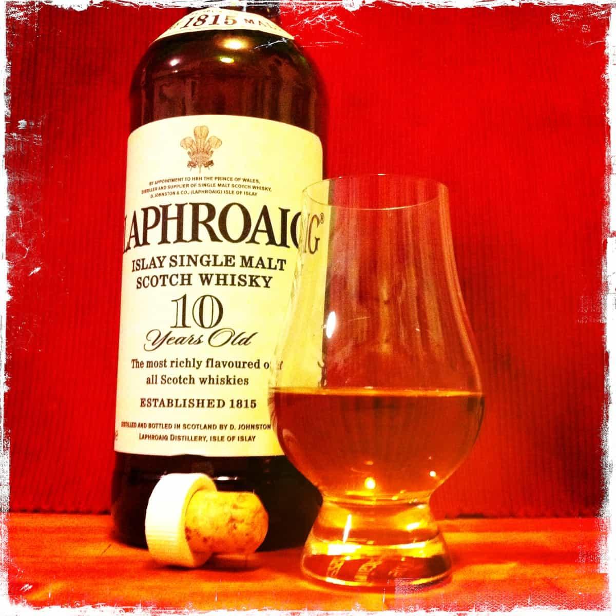 Laphroaig 10 Year – scotch under 50