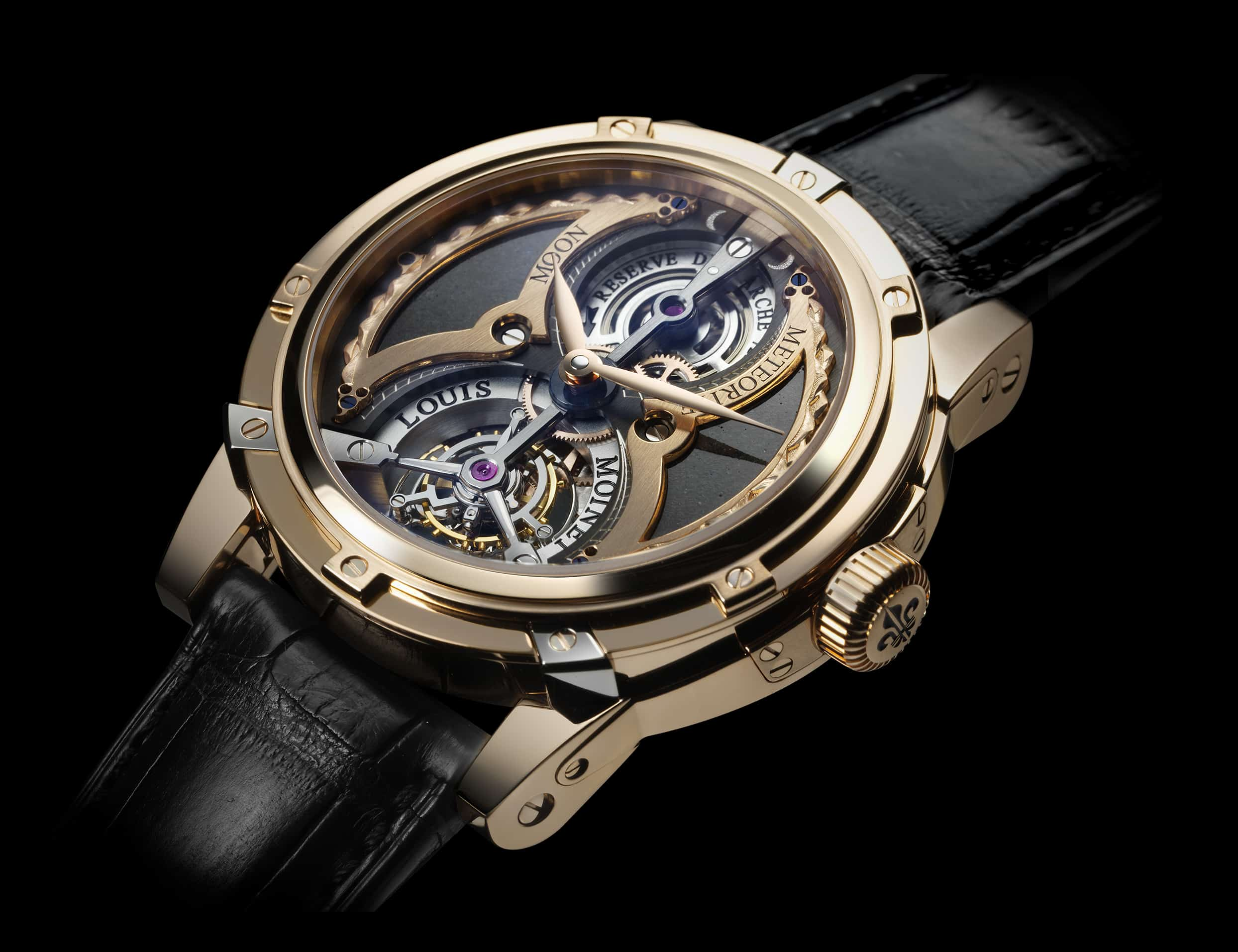 Louis Moinet Meteoris – expensive watch