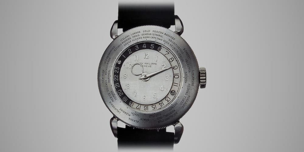 Patek Philippe Platinum World Time 1939 – expensive watch