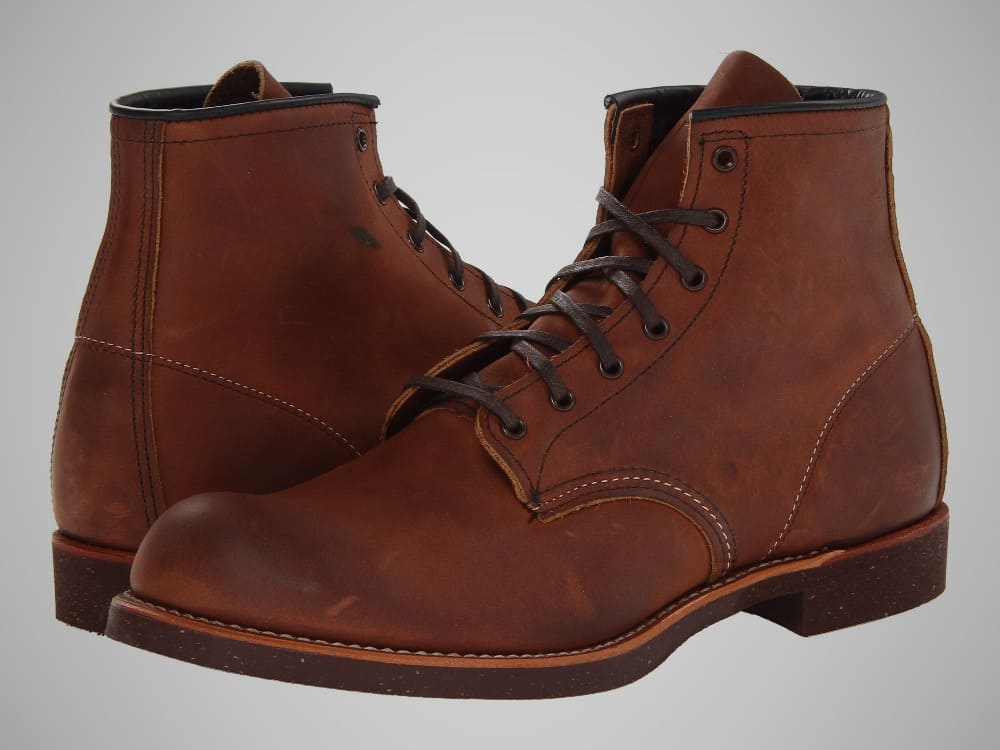 Red Wing Heritage Blacksmith American Made Work Boot