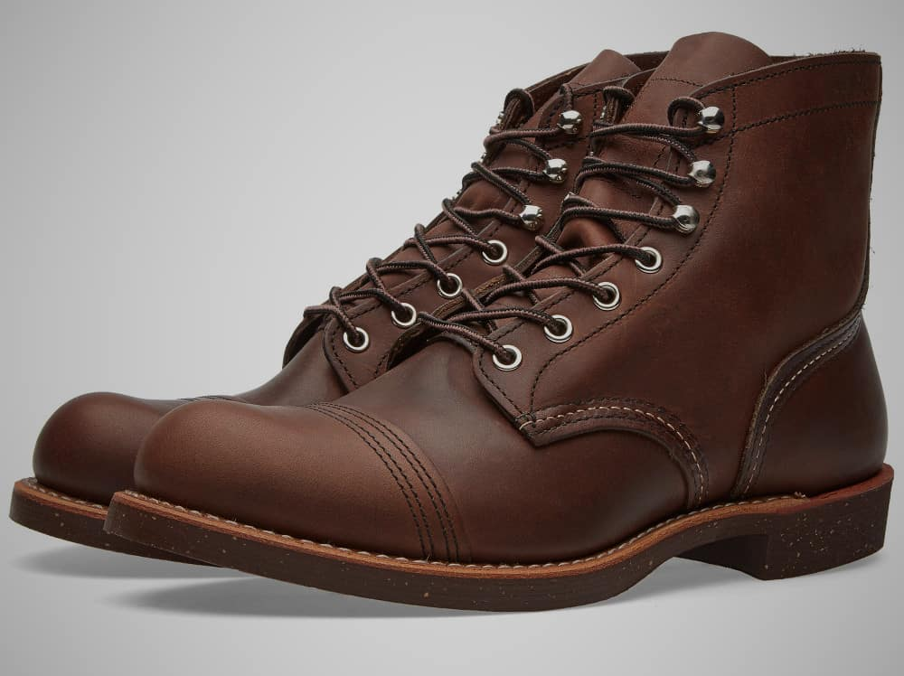 Red Wing Heritage Iron Ranger American Made Boot