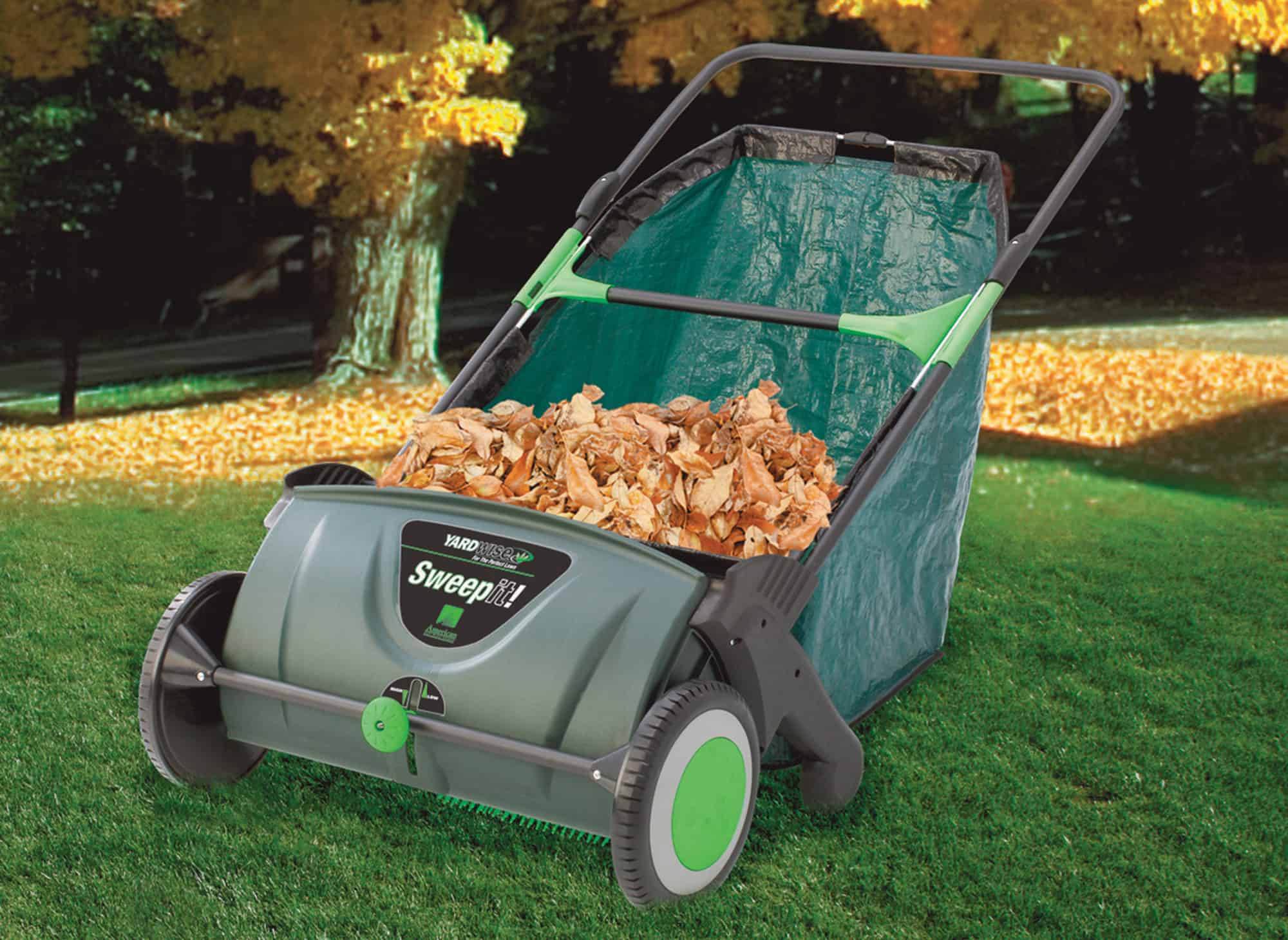 Sweep It – lawn vacuum