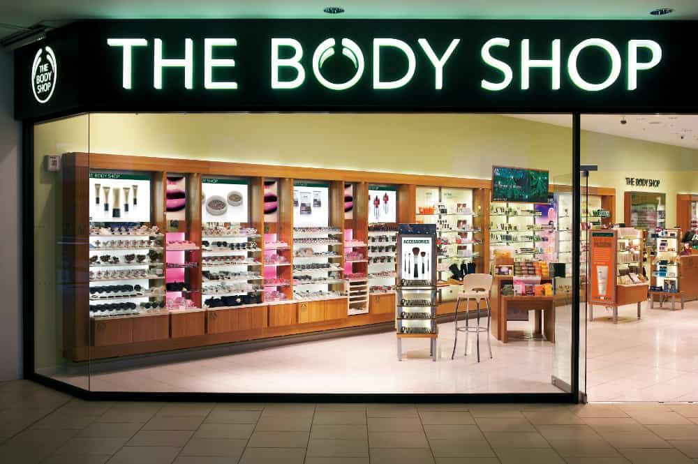 The Body Shop – brand no animal testing