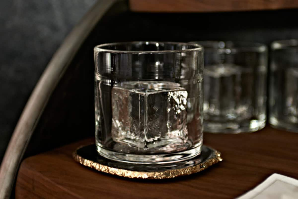 The Cube Whiskey Glass