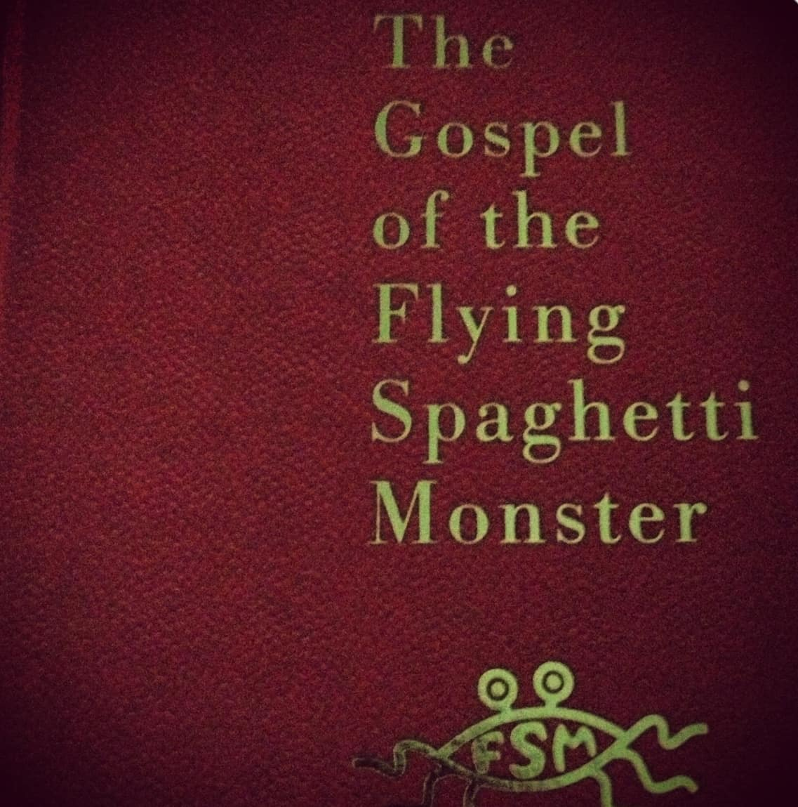 The Gospel of the Flying Spaghetti Monster – funny philosophy book
