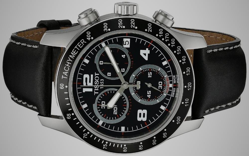 Tissot V8 Stainless Steel Chronograph – watch under 500