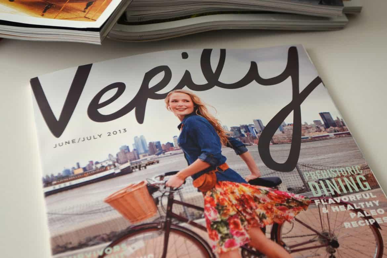Verily – no photoshopping brand