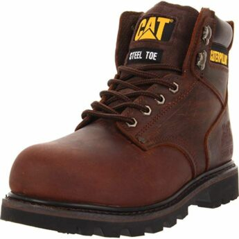 Caterpillar Mens Second Shift Steel Toe Work Boot 345x345 Best Mens Work Boots for Strength and Comfort (2021 Edition)