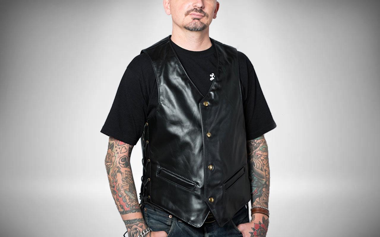 Langlitz Leather Vest Motorcycle Jacket Accessory