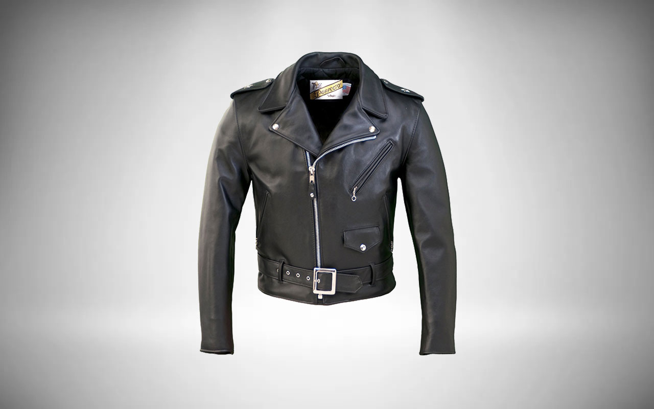 Schott One Star Perfecto 613 Leather Motorcycle Jacket