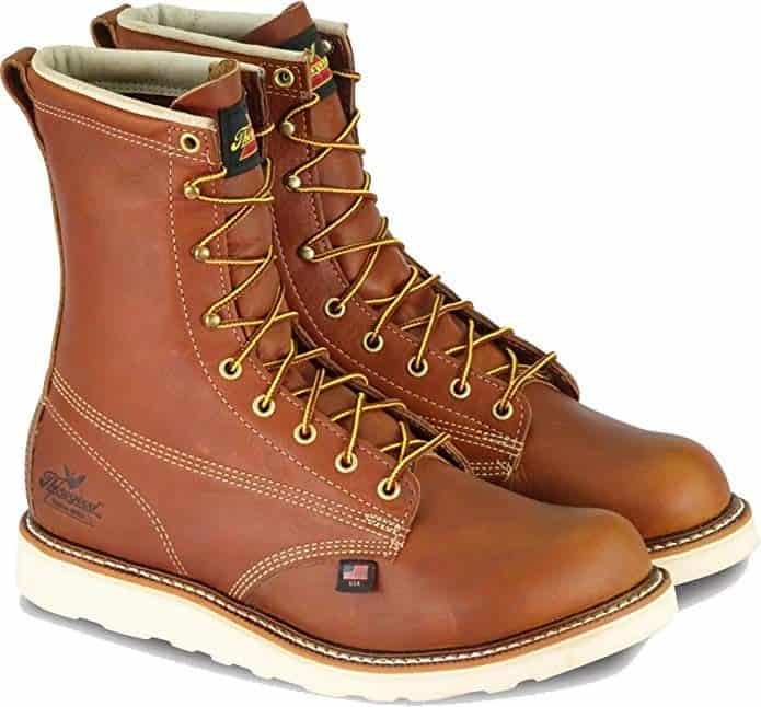 Thorogood Mens American Heritage Round Toe, MAXWear Wedge Non-Safety Toe Boot