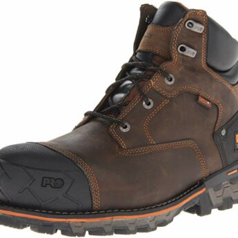 Timberland PRO Mens Boondock Waterproof Non Insulated Work Boot 345x345 Best Mens Work Boots for Strength and Comfort (2021 Edition)