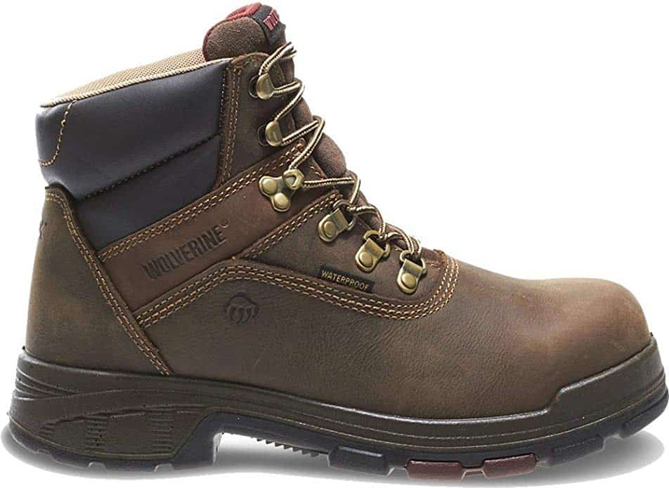 Wolverine Mens Cabor Waterproof 6-Inch Work Boot