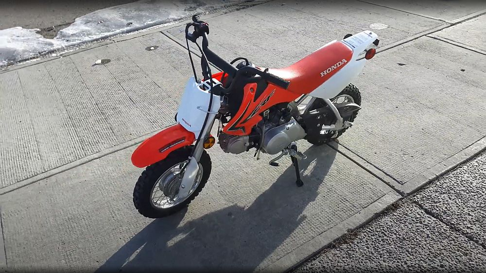 Honda CRF50 - kids dirt bike