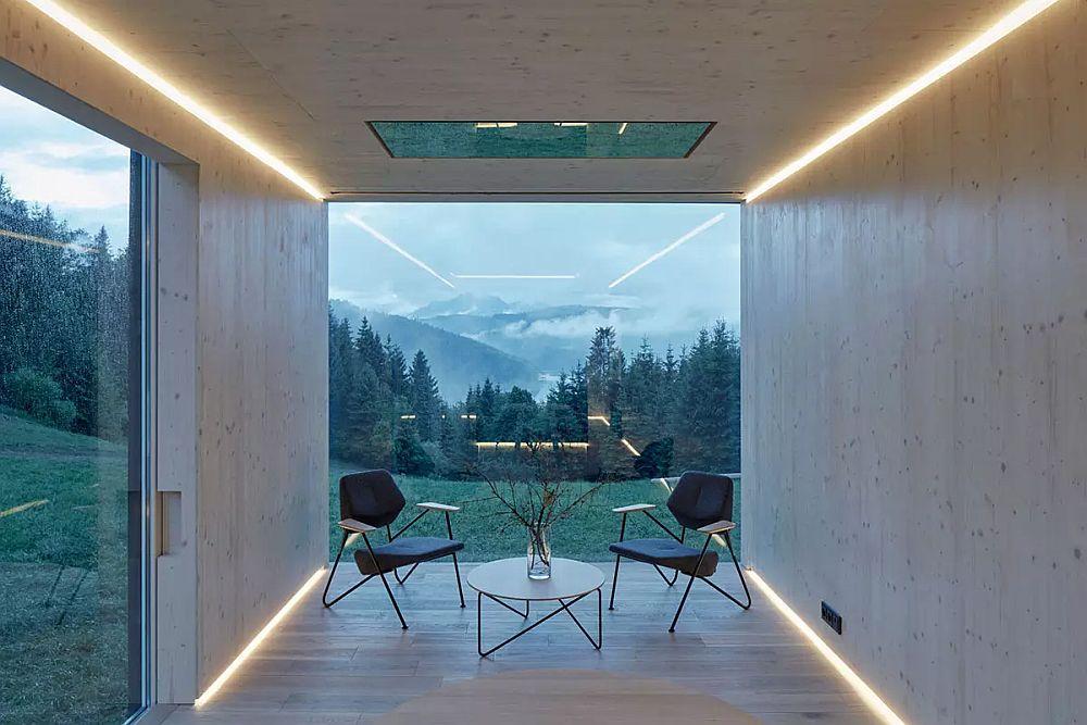 Ark Shelter prefa cabin – living area