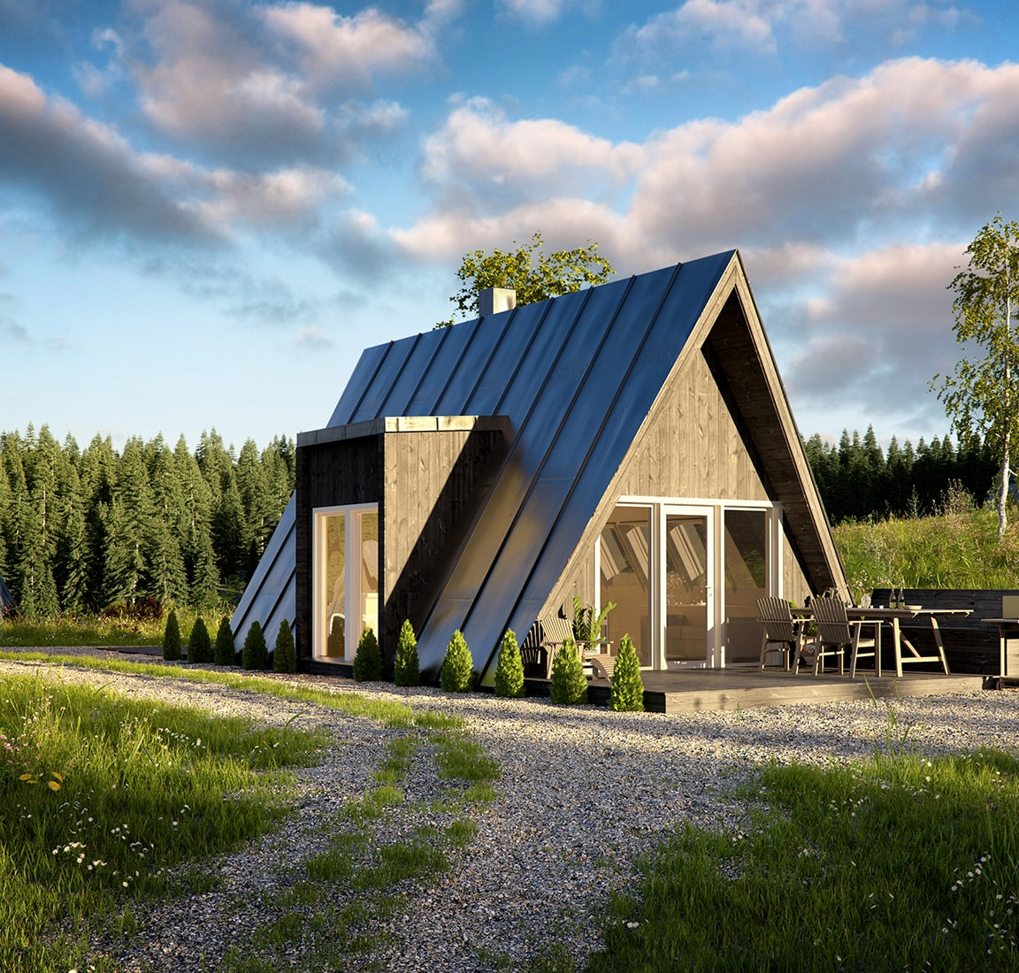 Avram Duo Series prefab cabin design