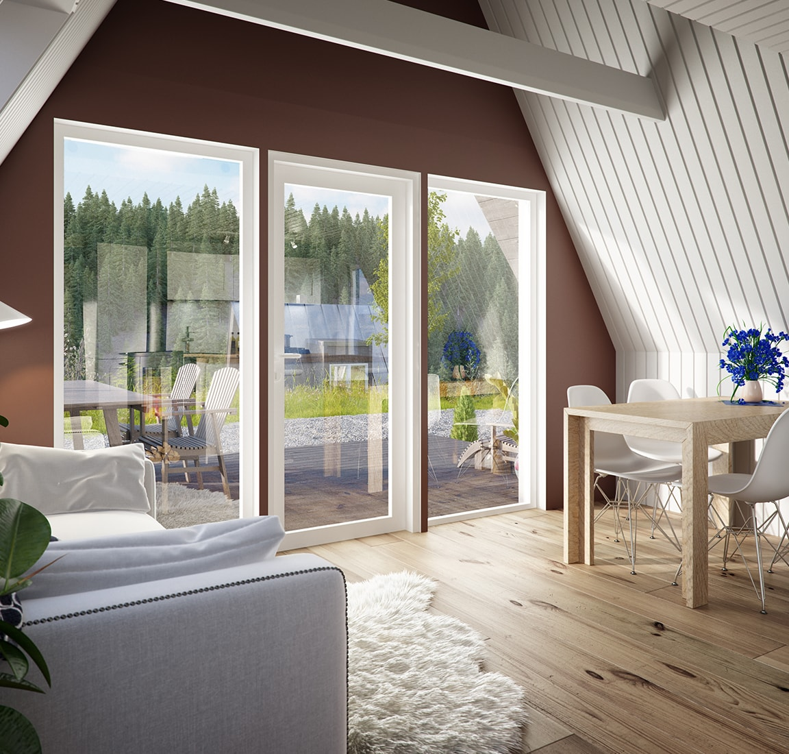 Avram Duo Series prefab cabin – interior
