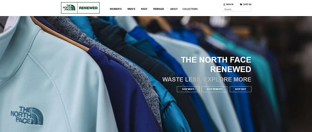 The North Face RENEWED – online store
