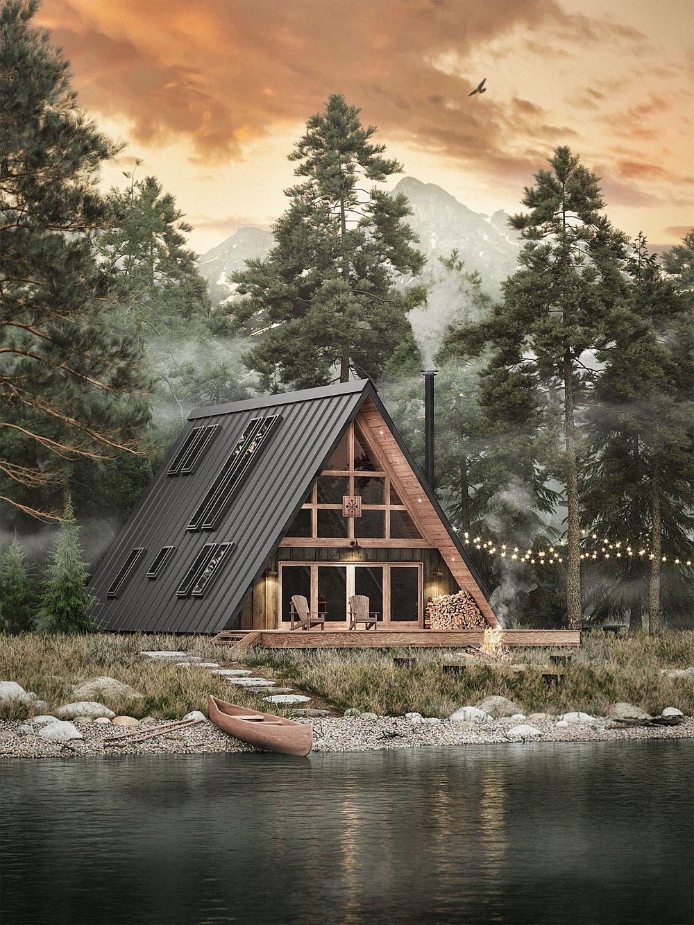 Ayfraym A-Frame Prefab Cabin