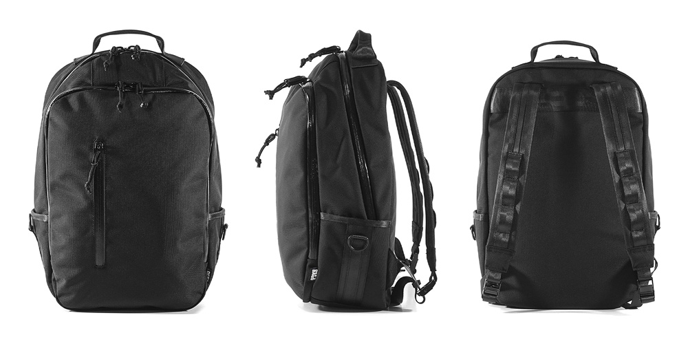 Bucktown Backpack _ Black Ballistic Nylon